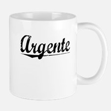 Argente, Aged, Small Mugs