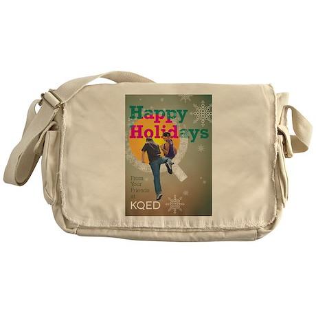 KQED holiday 2012 Messenger Bag