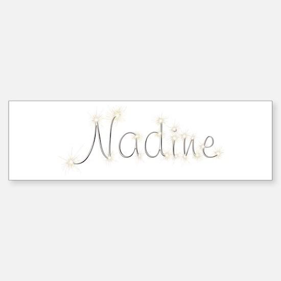 Nadine Spark Bumper Bumper Bumper Sticker