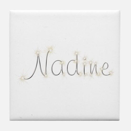 Nadine Spark Tile Coaster