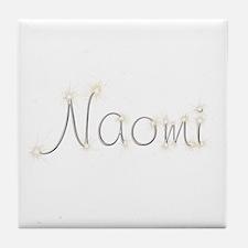 Naomi Spark Tile Coaster