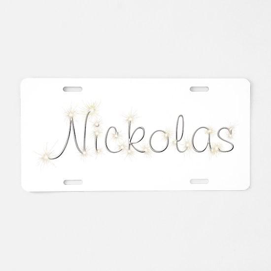 Nickolas Spark Aluminum License Plate