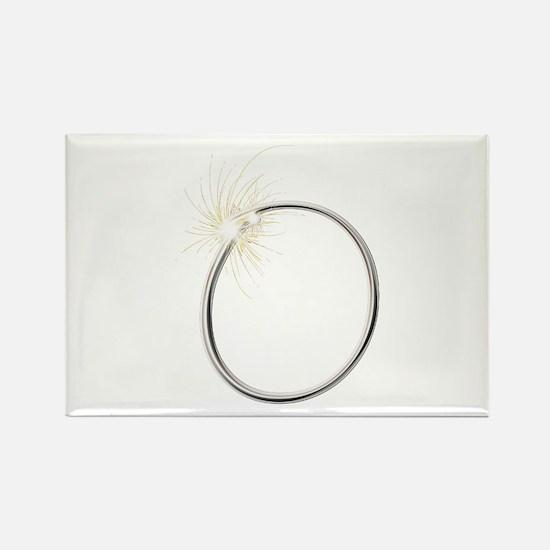 O Spark Rectangle Magnet