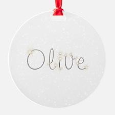 Olive Spark Ornament