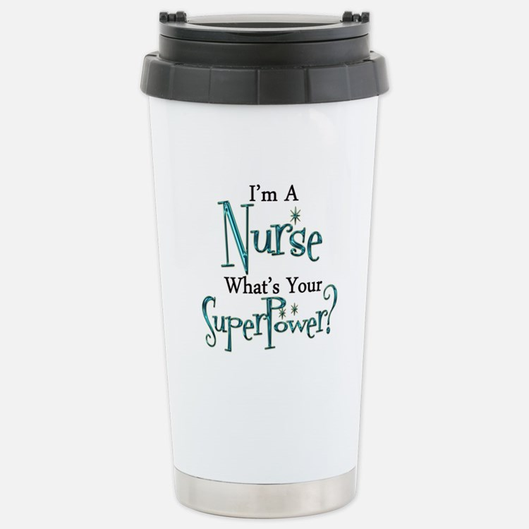 Super Nurse Travel Mug
