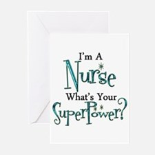 Super Nurse Greeting Cards (Pk of 20)
