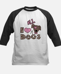 I Love All Dogs Tee
