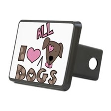 I Love All Dogs Hitch Cover