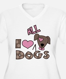 I Love All Dogs T-Shirt