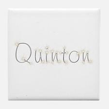 Quinton Spark Tile Coaster