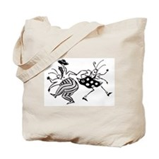 Cute Jitterbug Tote Bag