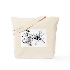 Cute Jazz dance Tote Bag