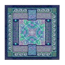 Celtic Atlantis Tile Coaster