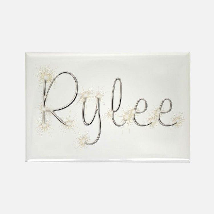 Rylee Spark Rectangle Magnet