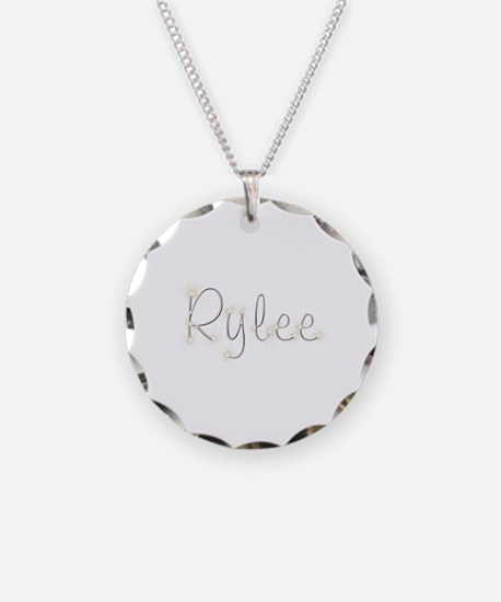 Rylee Spark Necklace Circle Charm