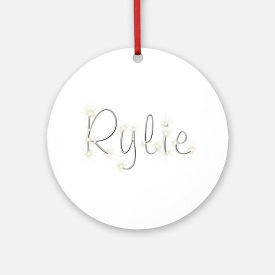 Rylie Spark Round Ornament