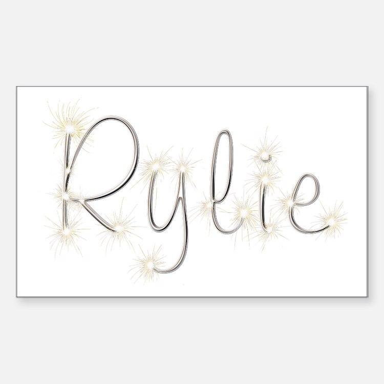Rylie Spark Rectangle Decal