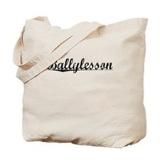 Ballylesson, Aged, Tote Bag