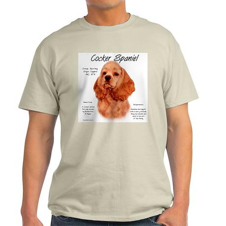 Red Cocker Spaniel Light T-Shirt