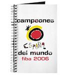 Spain - Baskeball World Champ Journal