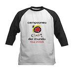 Spain - Baskeball World Champ Kids Baseball Jersey