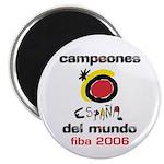 Spain - Baskeball World Champ Magnet