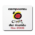 Spain - Baskeball World Champ Mousepad