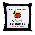 Spain - Baskeball World Champ Throw Pillow