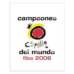 Spain - Baskeball World Champ Small Poster