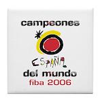 Spain - Baskeball World Champ Tile Coaster