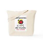 Spain - Baskeball World Champ Tote Bag