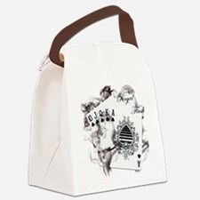 SmokinRoyalFlush.png Canvas Lunch Bag