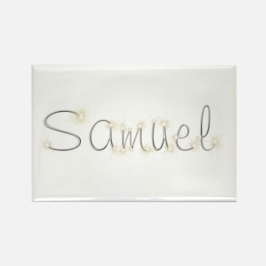 Samuel Spark Rectangle Magnet