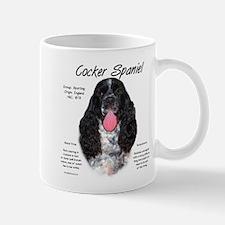 Parti b&w Cocker Spaniel Mug