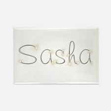 Sasha Spark Rectangle Magnet