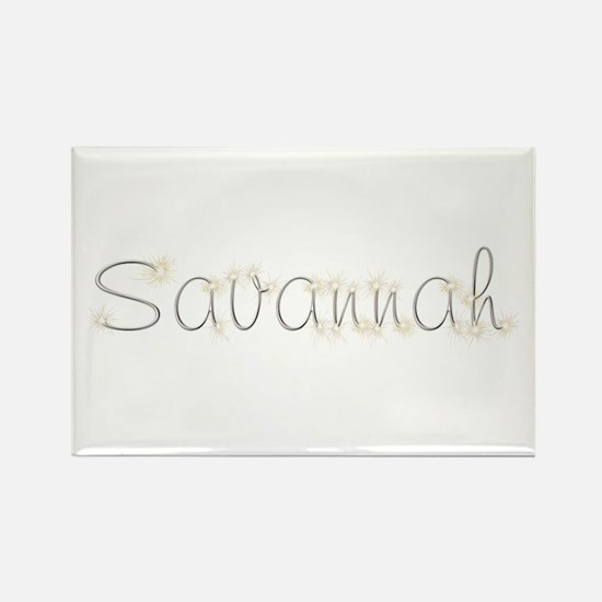 Savannah Spark Rectangle Magnet