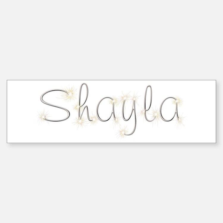 Shayla Spark Bumper Bumper Bumper Sticker