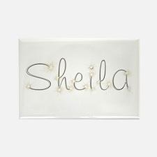 Sheila Spark Rectangle Magnet