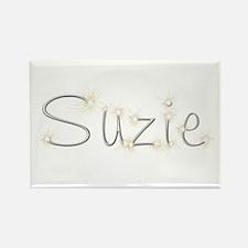 Suzie Spark Rectangle Magnet