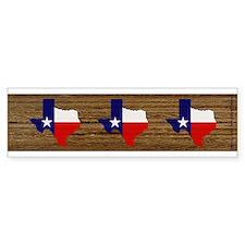 Texas Flag v3 Bumper Sticker