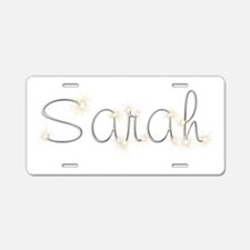 Sarah Spark Aluminum License Plate