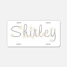 Shirley Spark Aluminum License Plate