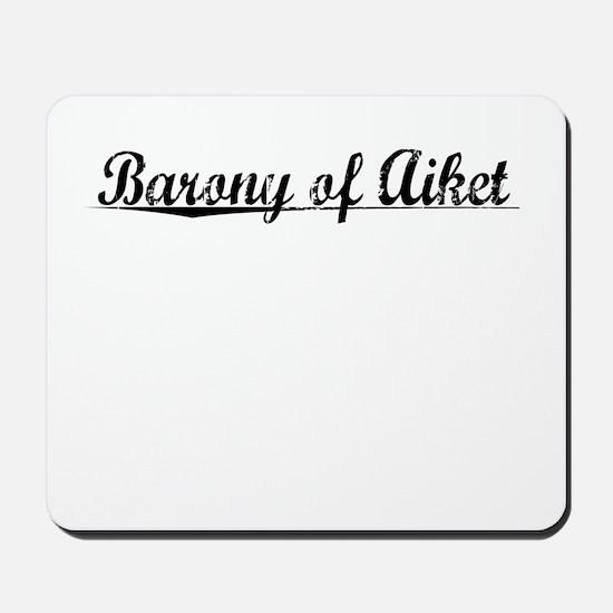 Barony of Aiket, Aged, Mousepad