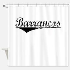 Barrancos, Aged, Shower Curtain