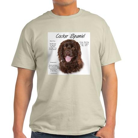Brown Cocker Spaniel Light T-Shirt