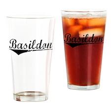Basildon, Aged, Drinking Glass