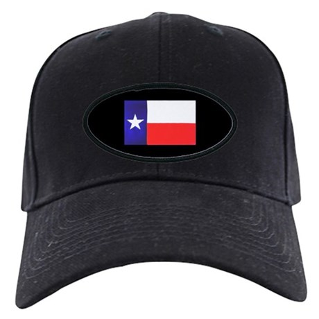 Texas Flag v2 Black Cap