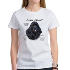 Black Cocker Spaniel Tee