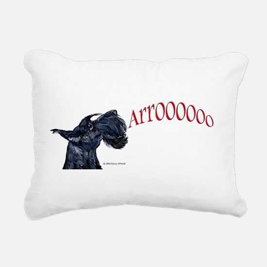 Arooo mug 14x6.png Rectangular Canvas Pillow