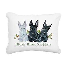 Make mine Scottish.png Rectangular Canvas Pillow